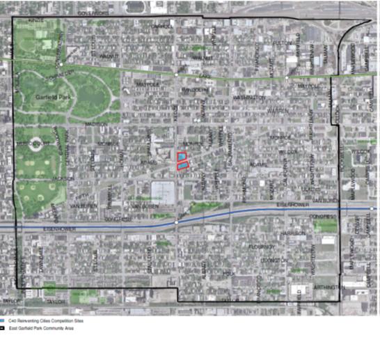 Garfield Park Chicago Map.East Garfield Park 45 Locais Reinventing Cities